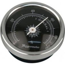 Hauser Analog Hygrometer Svart