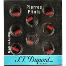 S.T. Dupont Flintasten Röd 8-pack