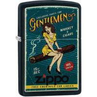 "Zippo ""Cigar Girl"" Ink. Dubbeltorch Insats"